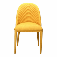 Moe's Home Furniture Libby Dining Chair Yellow-m2