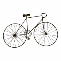 Moe's Home Furniture Mcmillan Bicycle Wall Art Bronze