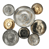 Moe's Home Furniture Metal Disc Wall Decor
