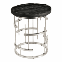 Moe's Home Furniture Morpheus Side Table Charcoal