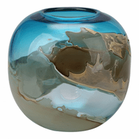 Moe's Home Furniture Mystic Blue Vase Globe