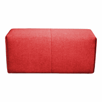 Moe's Home Furniture Nathaniel Arm Red