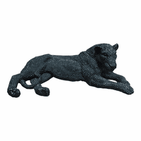 Moe's Home Furniture Panthera Statue Black