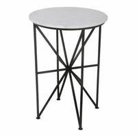 Moe's Home Furniture Quadrant Marble Accent Table