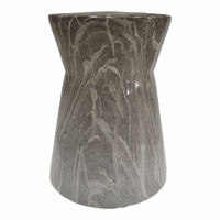 Moe's Home Furniture Shandi Stool Grey Marble