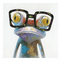 Moe's Home Furniture Smart Frog Wall Decor