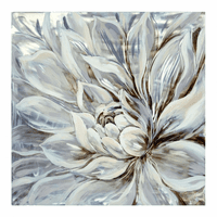 Moe's Home Furniture Snowy Bloom Wall Decor