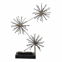 Moe's Home Furniture Spike Sculpture Black