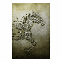 Moe's Home Furniture Stallion Wall Decor
