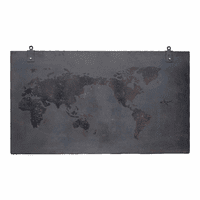 Moe's Home Furniture Steel World Wall Decor