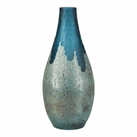 Moe's Home Furniture Teardrop Vase Blue