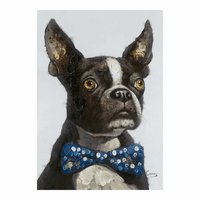 Moe's Home Furniture Tux Terrier Wall Decor
