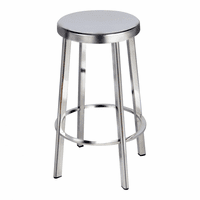 Moe's Home Furniture Vitter Stainless Bar Stool-m2