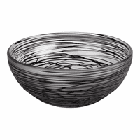 Moe's Home Furniture Whirlpool Glass Bowl