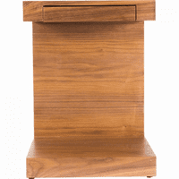 Moe's Home Furniture Zio Sidetable Walnut
