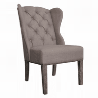 Naples Dining Chair - Oatmeal Linen