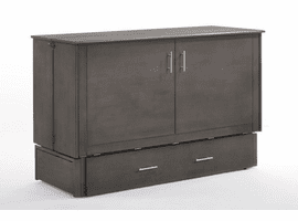 Night & Day Furniture Sagebrush Murphy Cabinet Bed Stonewash