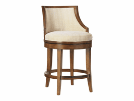 Ocean Club TH-536-815-01 Cabana Swivel Counter Stool - Ships Assembled