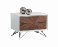 Pike End Table With Drawers
