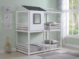 COASTER 461161 Belton Twin over Twin Bunk Bed