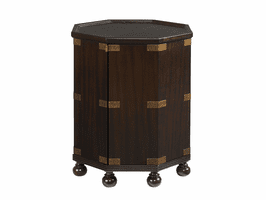Royal Kahala TH-537-952 Pacific Campaign Accent Table