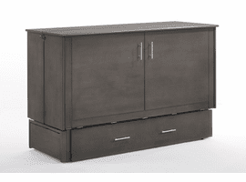 Sagebrush Murphy Cabinet QUEEN BED CHOCOLATE OR STONE WASH COLOR