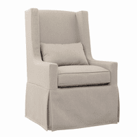 Sandspur Beach Swivel Lounge Chair - Brushed Linen