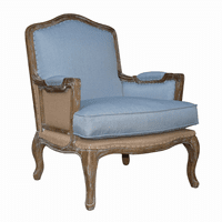 Smather's Beach Lounge Chair - Blue Linen