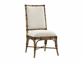 Twin Palms TH-558-882-01 Summer Isle Upholstered Side Chair - Ships Assembled