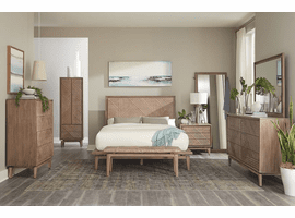 Vanowen Bedroom Set  in Sandstone