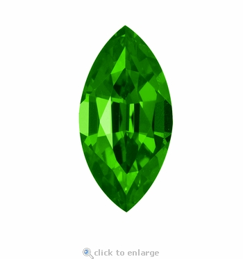 2 Carat 12x6mm Marquise Emerald Lab Created Simulated Loose Stone