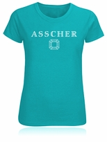 Asscher Cut Diamond Facets T-Shirt