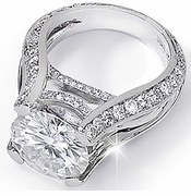 Couture Style Cubic Zirconia Rings