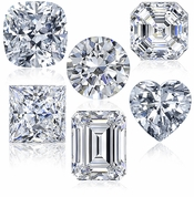 Cubic Zirconia Loose Stones Russian Formula Diamond Quality