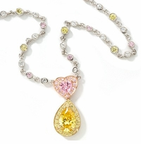 Cubic Zirconia Statement Necklace Collection