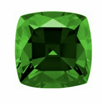 Cushion Cut Square Emerald Lab Created Simulated Loose Stones