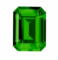 Emerald Cut Emerald Lab Created Simulated Loose Stones