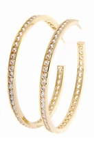 Garner Cubic Zirconia Channel Hoop Earrings