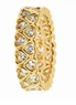 Hartzell Channel Set Heart Design Cubic Zirconia Eternity Band