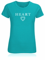Heart Diamond Facets T-Shirt