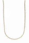Hemingway Elegante Round Cubic Zirconia Chain Tennis Necklace