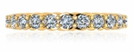 Katerini Twisted Rope Cubic Zirconia Anniversary Band