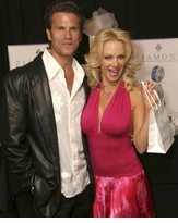 Lorenzo Lamas and Barbara Moore