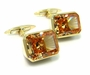 Men's Cubic Zirconia Cufflinks