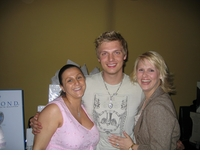 Nick Carter <br>of The Backstreet Boys