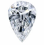 Pear Shape Cubic Zirconia Loose Stones