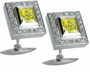 Ritz Princess Cut Cubic Zirconia Cufflinks