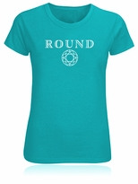Round Diamond Facets T-Shirt