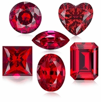 Ruby Lab Created Synthetic Loose Stones