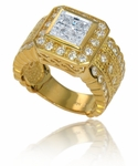 ***  SOLD OUT  ***  The Toscani Ring in 14k Yellow Gold